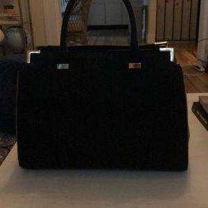 Black Rebecca Minkoff bucket bag